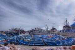 Рыбный порт Essaouira Стоковое фото RF