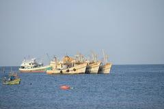 Рыбозаводы в провинции Chonburi, Таиланде Стоковая Фотография