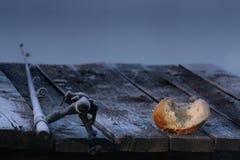 рыболовная удочка хлеба Стоковые Изображения