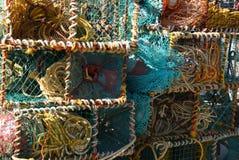 рыболовные принадлежности Стоковые Фотографии RF