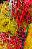 рыболовные принадлежности Стоковые Изображения