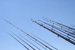рыболовные удочки Стоковая Фотография RF