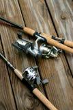 рыболовные удочки Стоковые Фото
