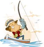 рыболовство деятельности Стоковые Фото