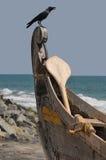 рыболовство Керала шлюпки Стоковые Изображения RF