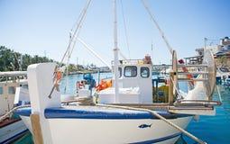 рыболовство крупного плана шлюпки Стоковое Изображение