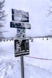 Рыболовство льда семьи Стоковое Фото