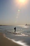 Рыболовство океана Стоковые Изображения