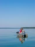 рыболовство после полудня Стоковое Изображение