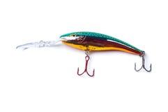 рыболовство приманки цветастое Стоковые Изображения