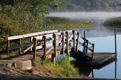 рыболовство стыковки Стоковая Фотография RF