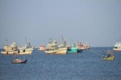 рыболовство Таиланд шлюпки Стоковые Изображения