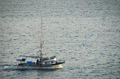 рыболовство шлюпки Аляски Стоковая Фотография RF