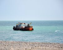 рыболовство шлюпки ржавое Стоковые Фото