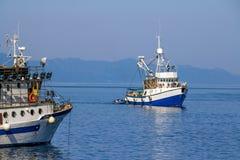 рыболовство шлюпки Стоковая Фотография