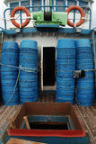 рыболовство шлюпочной палуба Стоковые Фото