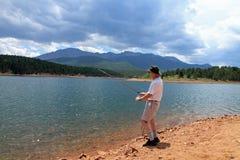 рыболовство Стоковое Фото