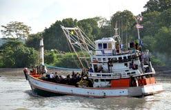 рыболовство phuket тайский Таиланд шлюпки Стоковая Фотография