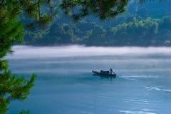 Рыболовы на зоре Стоковые Фотографии RF