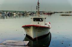 Рыболовы приютят старую фотографию - Турцию Стоковое фото RF