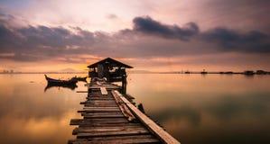 Рыболов \ 'дом s Стоковое фото RF