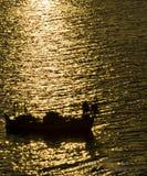 рыболов сиротливый Стоковые Фотографии RF