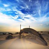 рыболов шлюпки Стоковые Фотографии RF