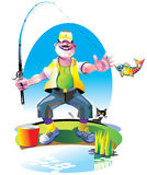 рыболов бесплатная иллюстрация