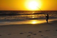 рыболов Стоковое Изображение RF