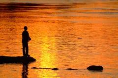 рыболов 3 Стоковое Изображение