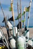 рыболов s собрания стоковое изображение rf