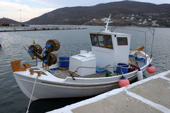 рыболов s шлюпки Стоковое фото RF