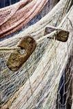 рыболовная сеть старая Стоковые Фото