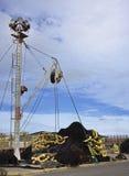 Рыболовная сеть тунца Стоковое Изображение RF