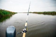 Рыболовная удочка Стоковое фото RF