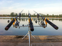 Рыболовная удочка Стоковое Изображение