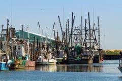 Рыболовные лодки промышленного рыболовства в Belford, Нью-Джерси Стоковое Фото