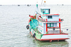 рыболовство шлюпки тайское Стоковые Фотографии RF