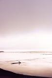 Рыболовы в тумане Стоковые Фото