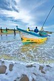 Рыболовы, Индия Стоковое Изображение