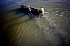 Рыболовы Стоковое Изображение