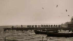 Рыболовы Стоковые Фото