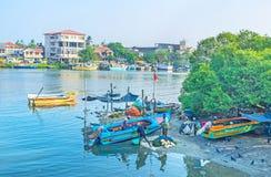 Рыболовы Negombo Стоковое фото RF