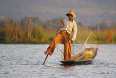 Рыболов. стоковые изображения