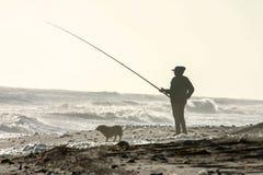 Рыболов стоковые изображения