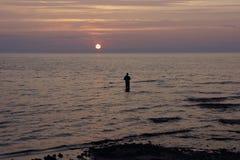 Рыболов Стоковые Фотографии RF