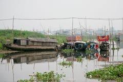 рыбы Вьетнам ферм Стоковые Изображения