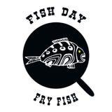 Рыбы в лотке также вектор иллюстрации притяжки corel иллюстрация штока