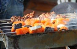 рыбы горячие Стоковые Изображения RF