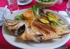 рыбы зажарили Стоковая Фотография